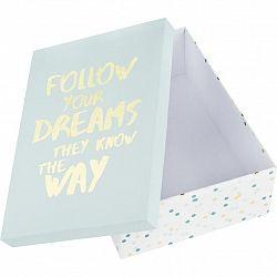 Geschenkbox Dreams Blau