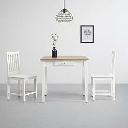 Jedálenský Stôl Camden 80x80cm