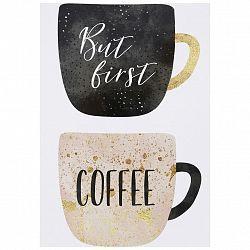 Postkarte Junique Mit Kaffeemotiv